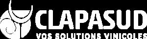 Logo Clapasud blanc