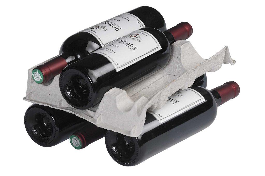 calage huhtamaki pour bouteilles de bordeaux