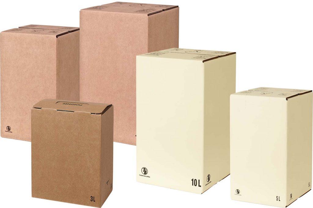 carton bib 3, 5 et 10 litres generiques