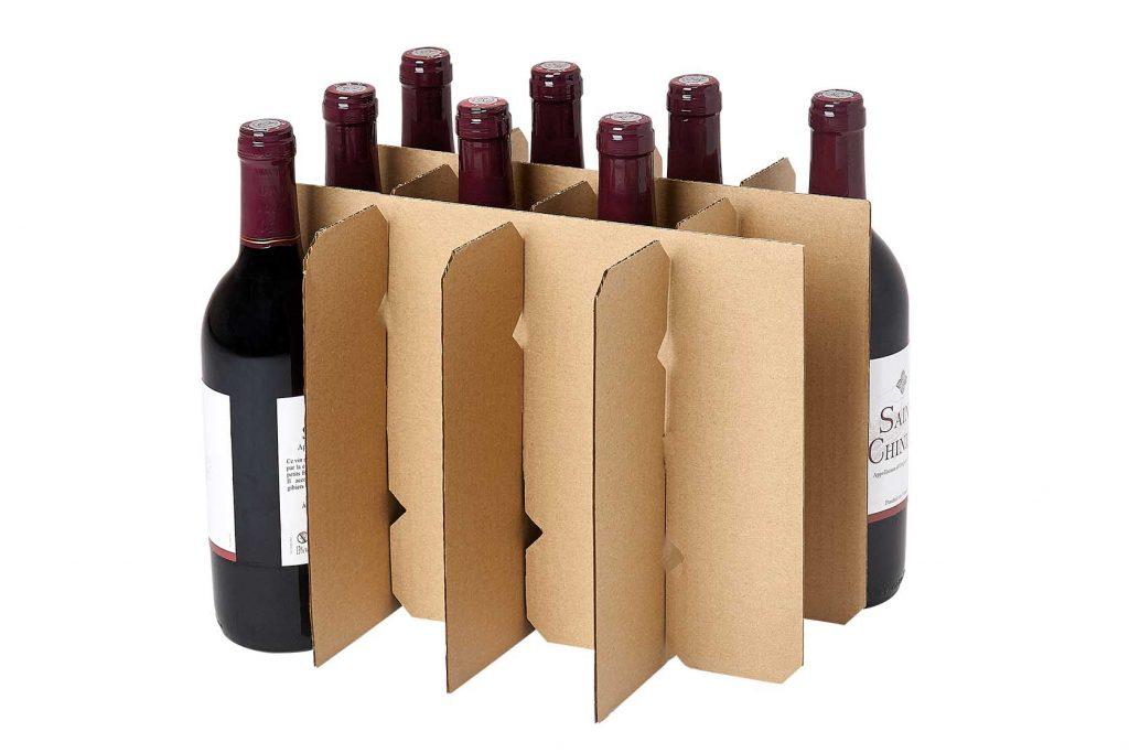 croisillon canneles pour 12 bouteilles