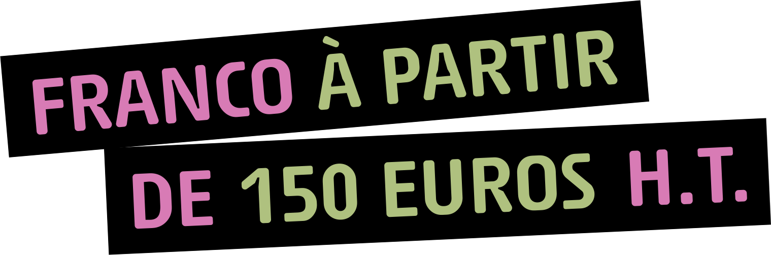 franco a partir de 150 euros ht