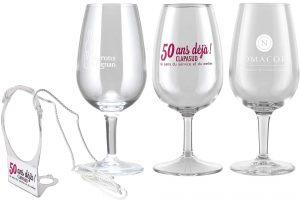 verres a vin serigraphies