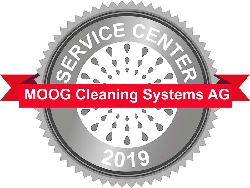 moog cleaning systems label service center, partenaire de Clapasud